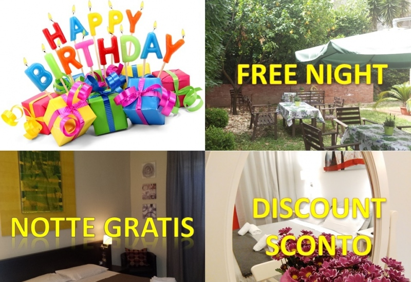 Happy Birthday Offer Rome - Villa Borghese Guest House Rome